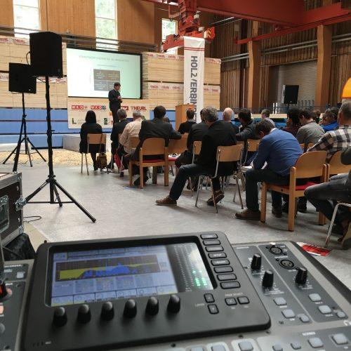 Holz Verbindet – Veranstaltungstechnik