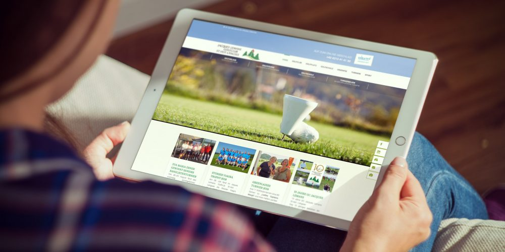 Jacques Lemans Golfclub – Website