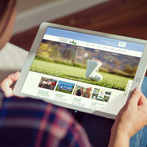 Jacques Lemans Golfclub – Website