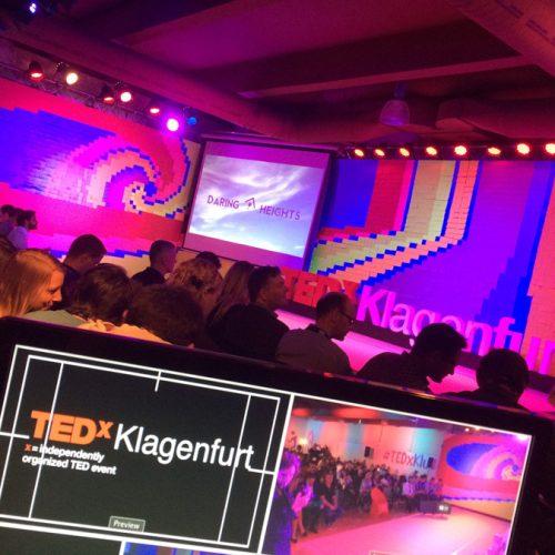 TEDxKlagenfurt – Veranstaltungstechnik/Videoproduktion/Live-Technik