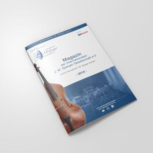 Magazin der Internationalen J. M. Sperger Gesellschaft e. V. – 2019